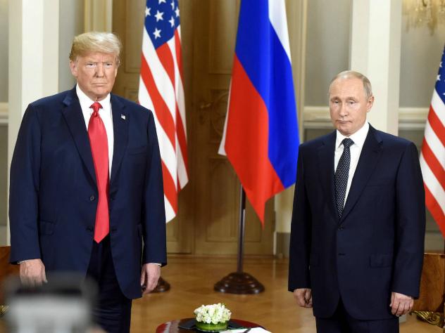 Путин и Трамп довольны  переговорами в Хельсинки