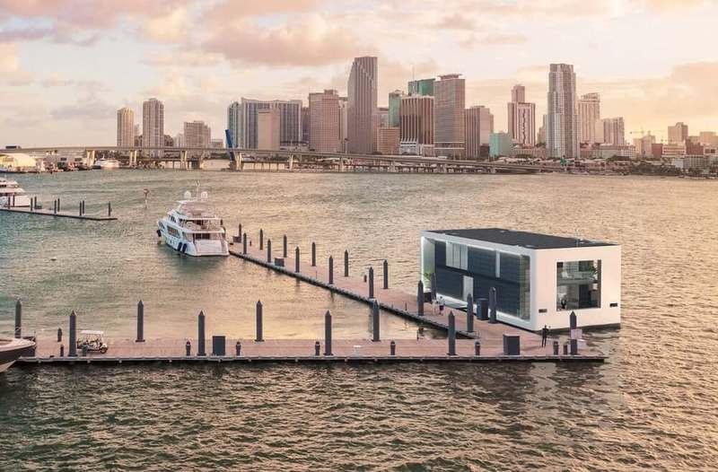 Самоподъемный, автономный, роскошный плавающий дом