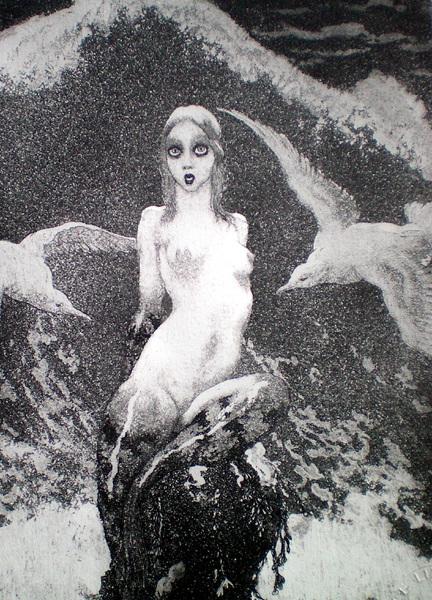 Прелестные нимфы, козлоногие обольстители и демоны в картинах Нормана Линдсея 13