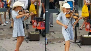 Маленькая скрипачка заиграла…