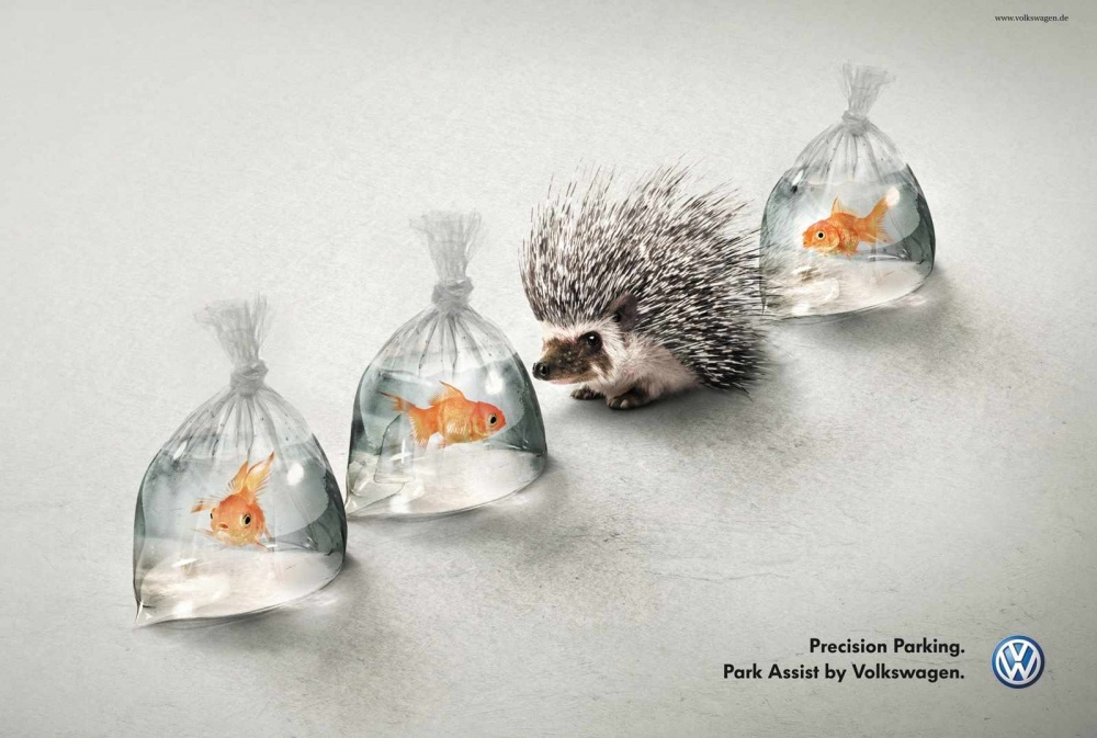 20 блестящих идей, которые вывели рекламу на новый уровень