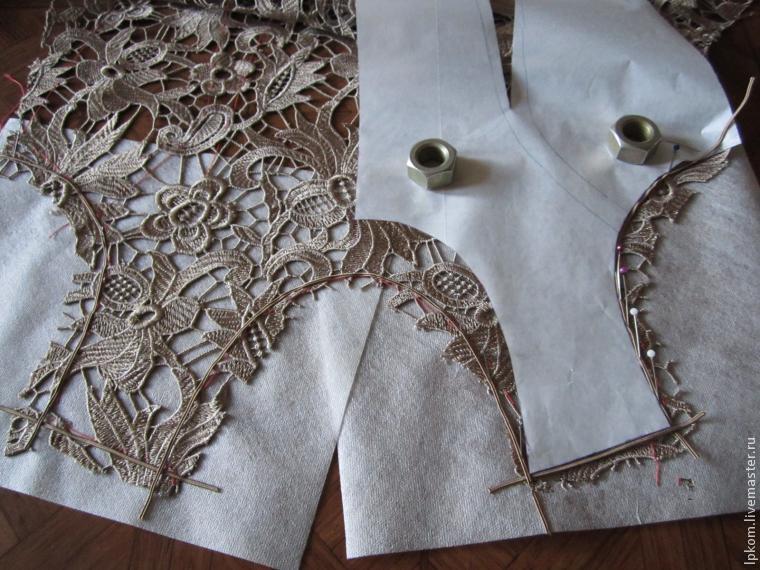 Сшить кружевное платье своими руками мастер класс 61