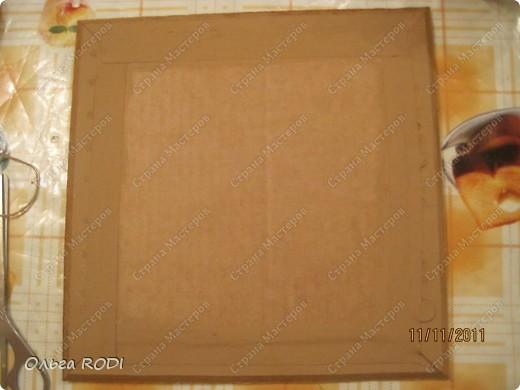 Рамочка из потолочного плинтуса. 38090