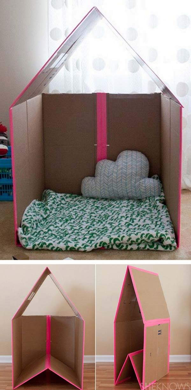 Сделать из детских коробок своими руками