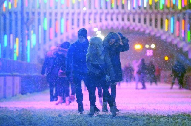 В Москве ожидается самая холодная ночь с начала зимы