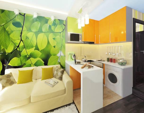 Дизайн гостинки 30 кв м