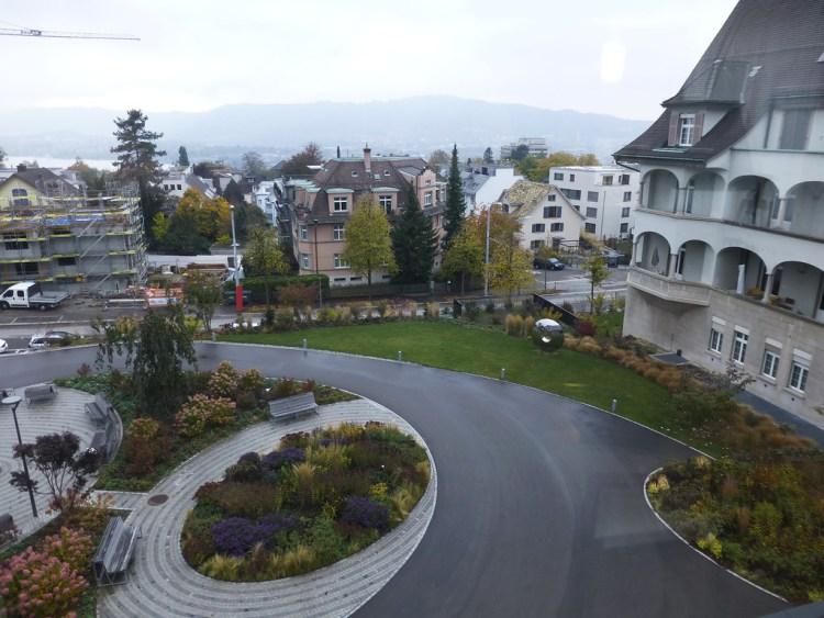 Обыкновенная палата в швейцарском роддоме. Просто вау!