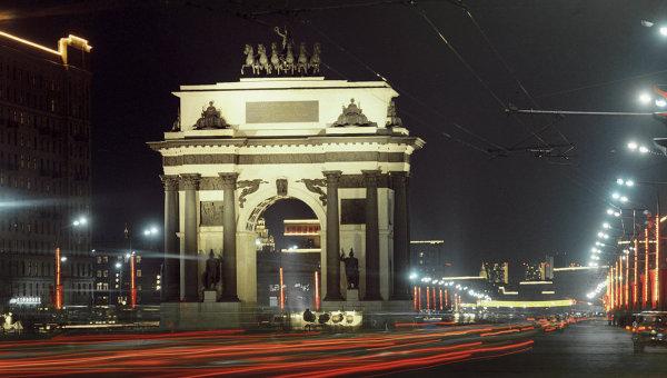 Кутузовский проспект. Архивное фото