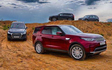 Новый Land Rover Discovery против конкурентов — тест ЗР