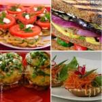 Овощные бутерброды (подборка)