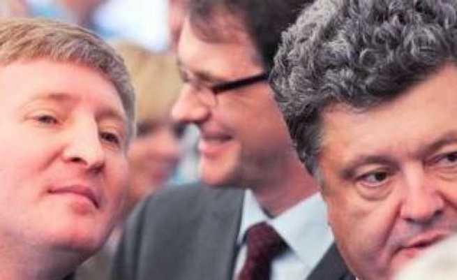 Ахметов требует голосовать за Порошенко...