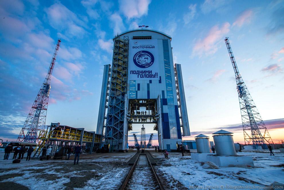 Космодром Восточный к первому запуску готов!