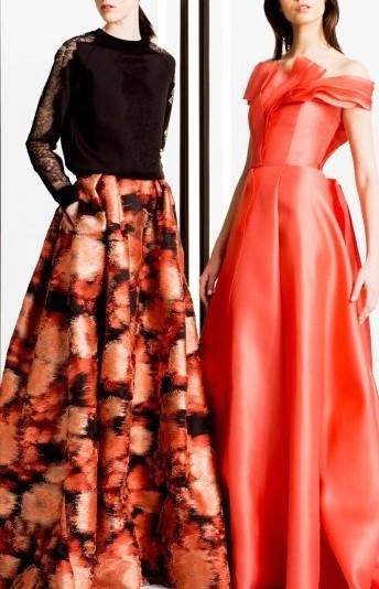 Carolina Herrera Межсезонная коллекция  2016: утонченный стиль и предельная женственность