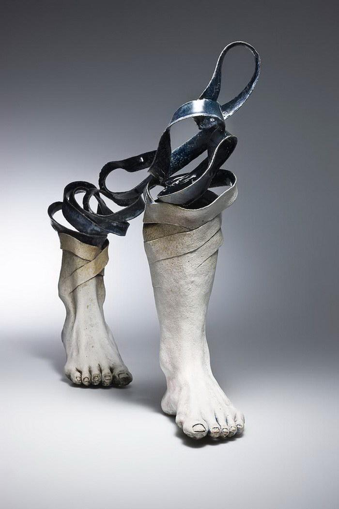 Керамические скульптуры Haejin Lee