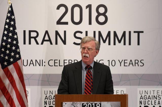 Болтон прокомментировал возможный обход Евросоюзом санкций против Ирана