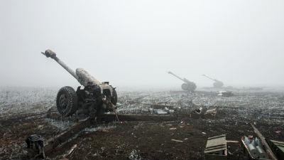 ЛНР начала отвод тяжелого вооружения