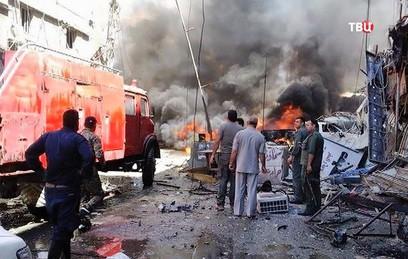 В результате двойного теракта в Дамаске погибли девять человек