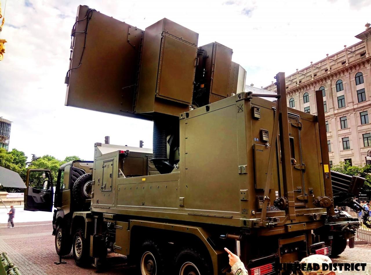 Грузия получила радиолокационную станцию Ground Master GM403
