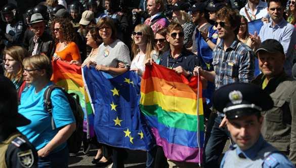 В Киеве прошёл парад победителей