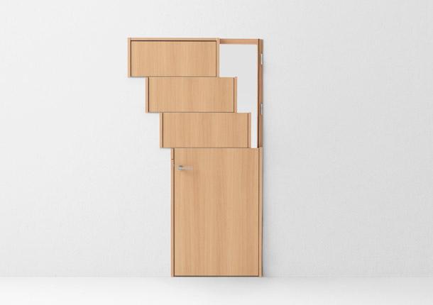 Поразительные межкомнатные двери! Дизайн-революция от японца Оки Сато!