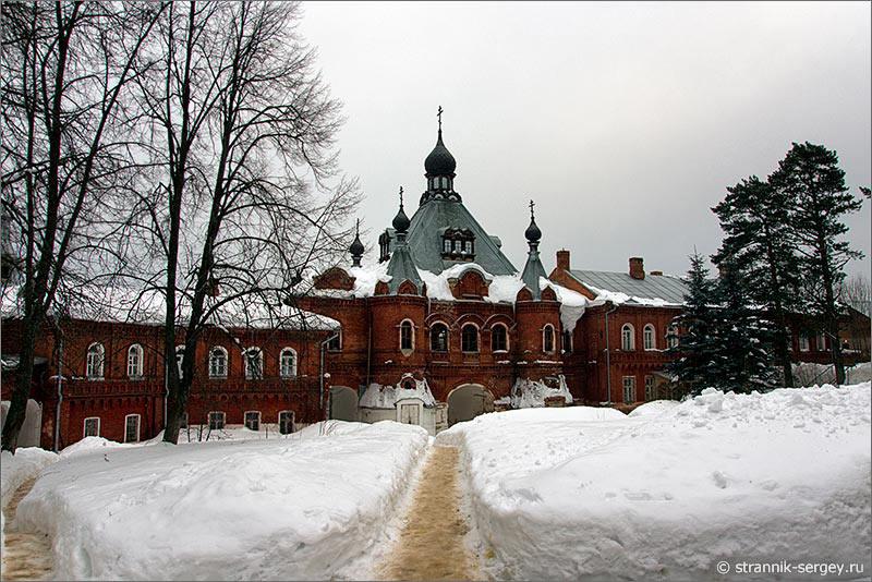 История одного мужского монастыря