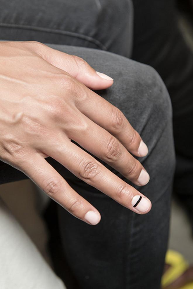 5 трендов в дизайне ногтей: идеи с показов весна-лето 2018 фото [7]
