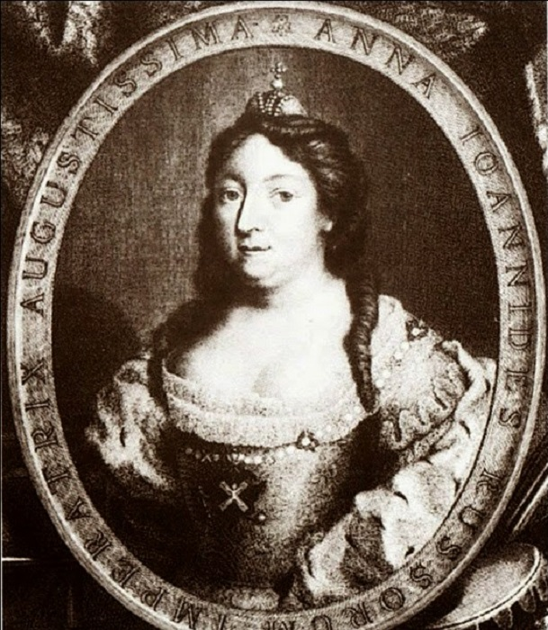 Российская императрица Анна Иоанновна. | Фото: otdelka-tam.ru.