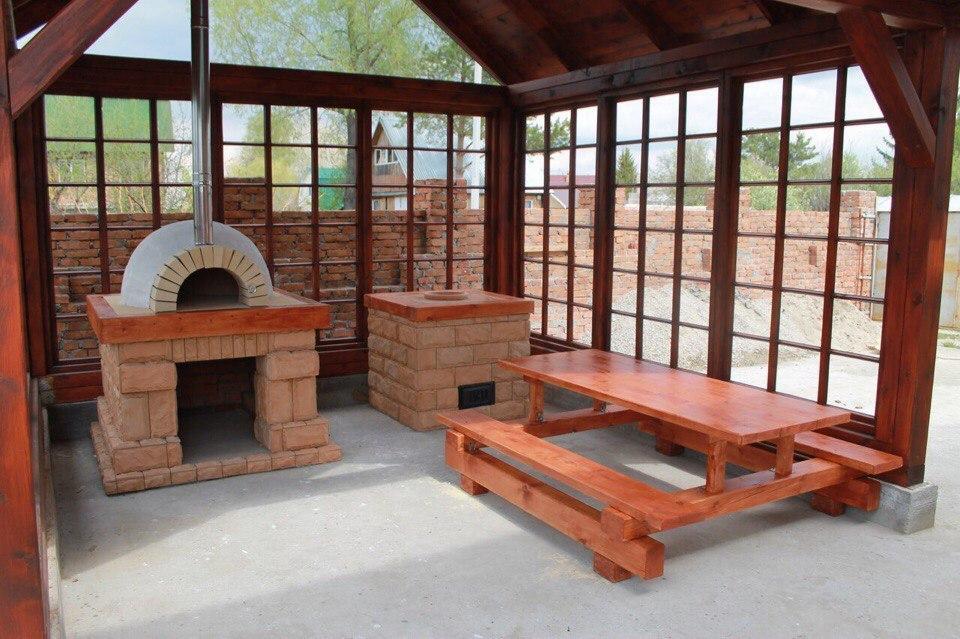 Поэтапное строительство летней кухни