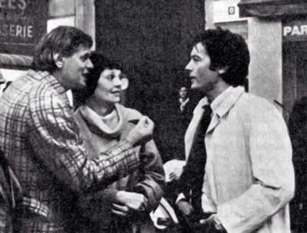 """Ален Делон на съёмках """"Тегеран-43"""". 1980 год"""