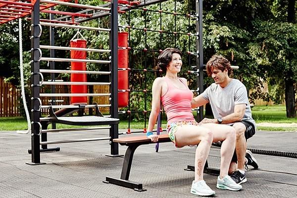Упражнение 4. Обратные отжимания