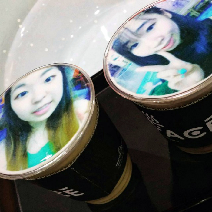 Напиток с фото.