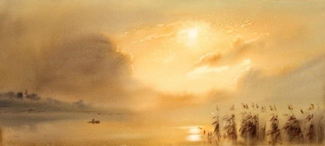 Закружиться в летнем тумане... Художник-акварелист Александр Телалим