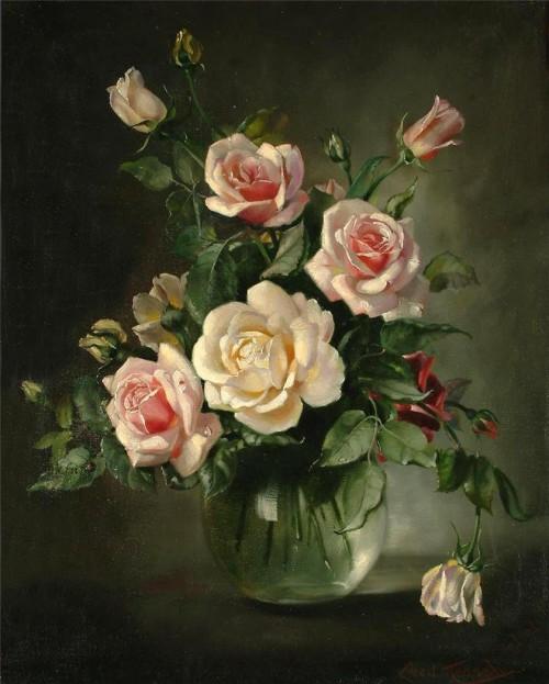 натюрморты цветы-16
