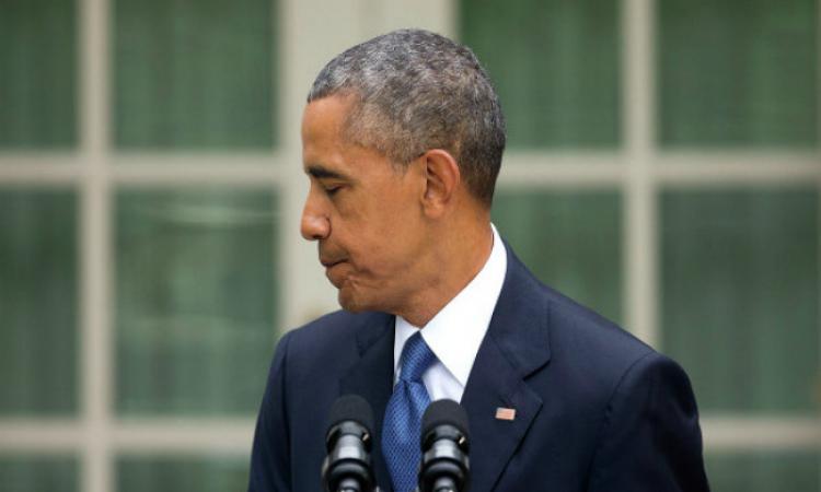 """Барак Обама """"запнулся"""""""