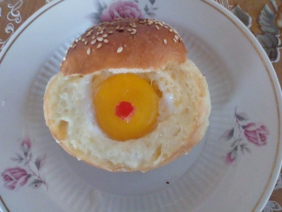 Яичница «Бычий глаз» — рецеп…