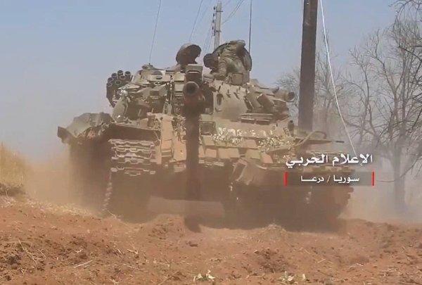 Наступление сирийской армии войск в Даръа