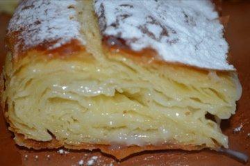 Египетский пирог фытыр с заварным кремом