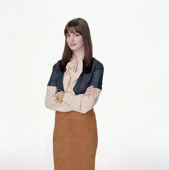 Энн Хэтэуэй (Anne Hathaway) в фотосессии для фильма Devil Wears Prada (2006), фото 1