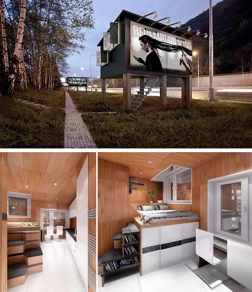 3. Квартира в билборде вместительность, дом, размер