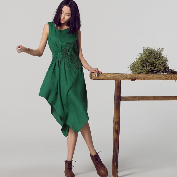 Аппликации и вышивка в китайском исполнении