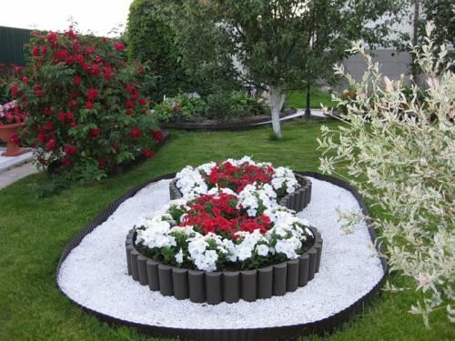 Клумбы и цветочный дворик, вдохновляемся