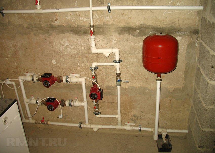 как накачать давление в систему отопления устройство типового гидранта