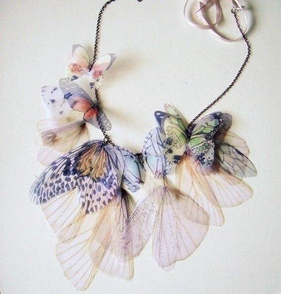 """Невероятно нежные украшения """"бабочки"""""""