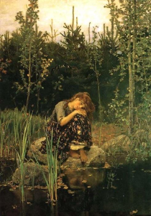 Виктор Васнецов. Аленушка, 1881