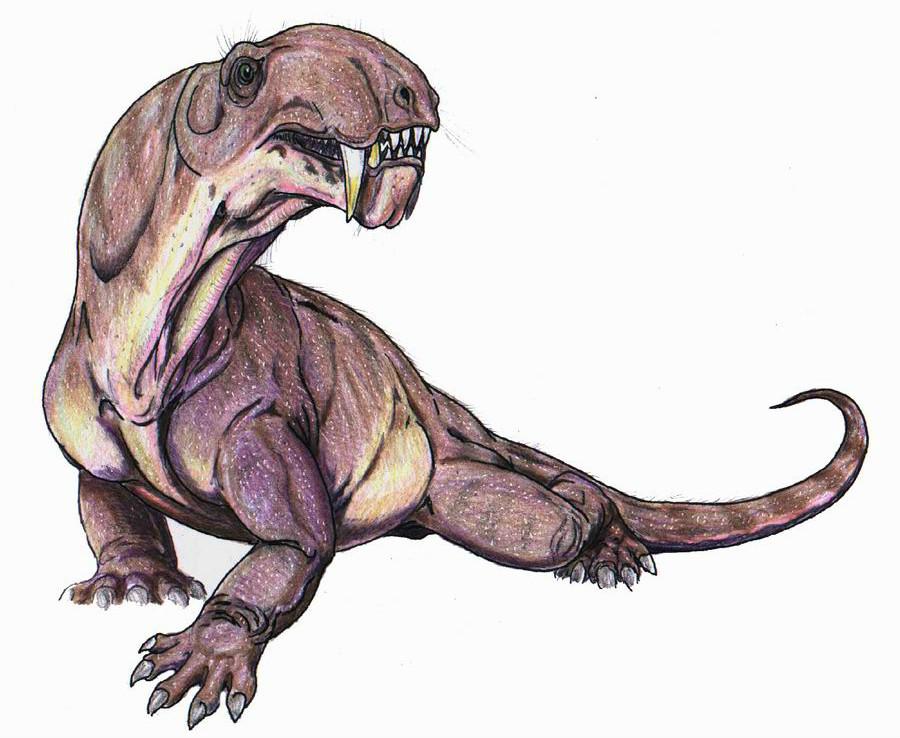 8. Ивантозавр (Пермская область). динозавры, доисторические животные, животные, история