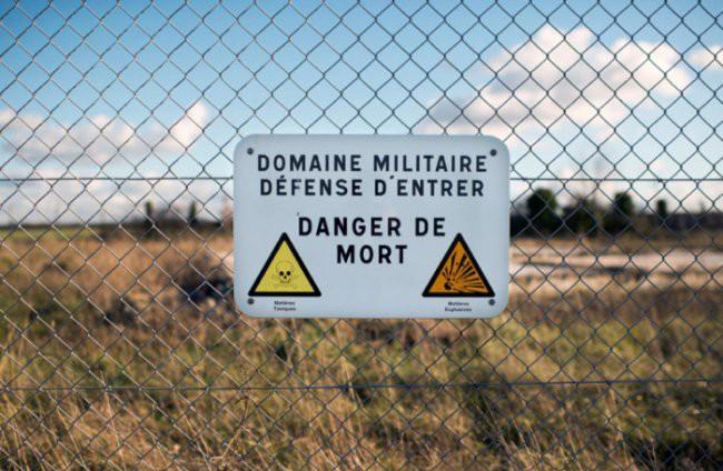 Красная зона во Франции