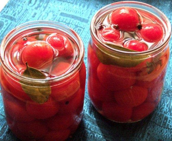 Засолка помидоров черри на зиму пошаговый рецепт