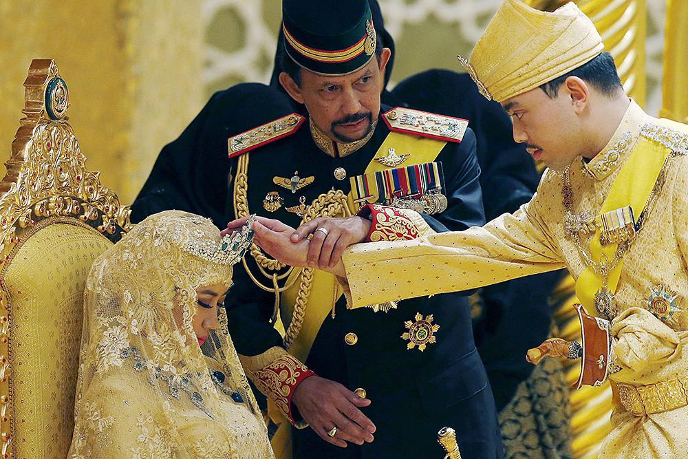 Как султан сына женил Брюнея, султан