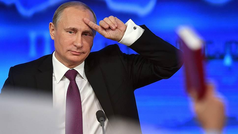 Путин — американскому журналисту: «Смешали божий дар с яичницей»