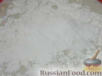 Фото приготовления рецепта: Пасхальный кулич без замеса - шаг №3